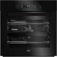 Beko BIF22300B Big Capacity 5 Function Electric Built-in Fan Single Oven Black