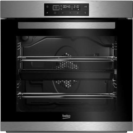 Beko BIM32400XP 14 Function Electric Built-in Single Oven With Self-cleaning And LED Programmer Stai