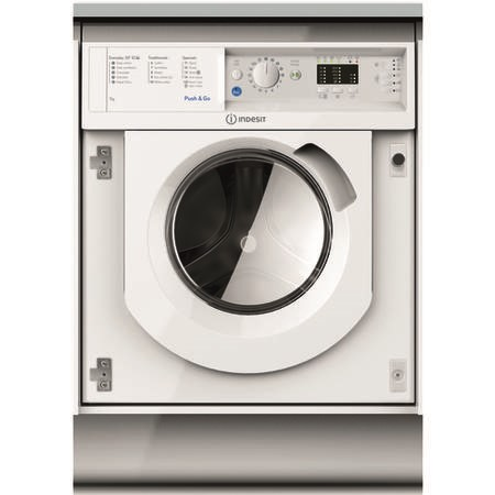 Indesit BIWMIL71252UKN 7kg 1200rpm Integrated Washing Machine