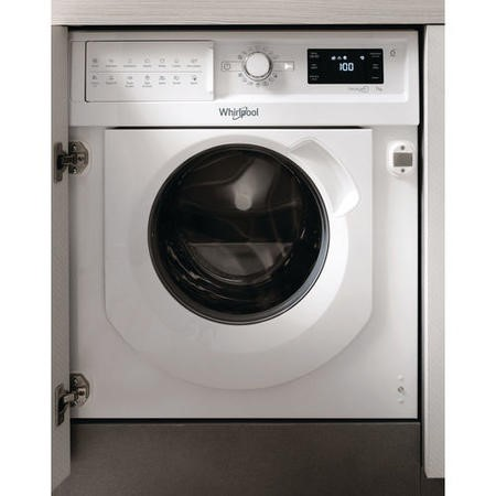 Whirlpool BIWMWG71484 7kg 1400rpm Integrated Washing Machine - White