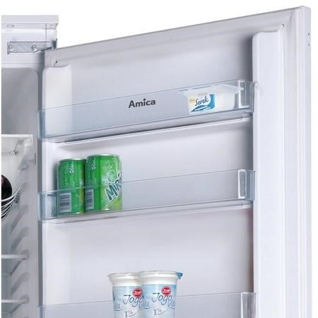 Amica BK316.3FA 54cm Wide Frost Free 70-30 Integrated Upright Fridge Freezer - White