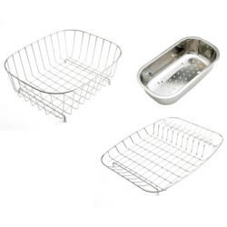 Astracast BK67XXHOME Stainless Steel 3-piece Basket Set
