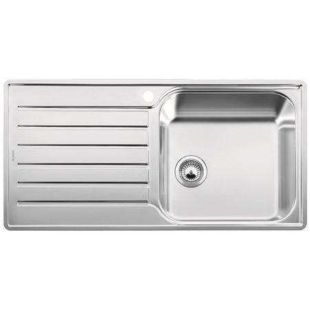 Blanco Lantos XL 6S-IF Single Bowl Reversible Stainless Steel Chrome Inset Kitchen Sink