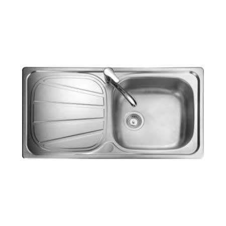Rangemaster BL9501 Baltimore 950x508 1.0 Bowl Reversible Stainless Steel Sink