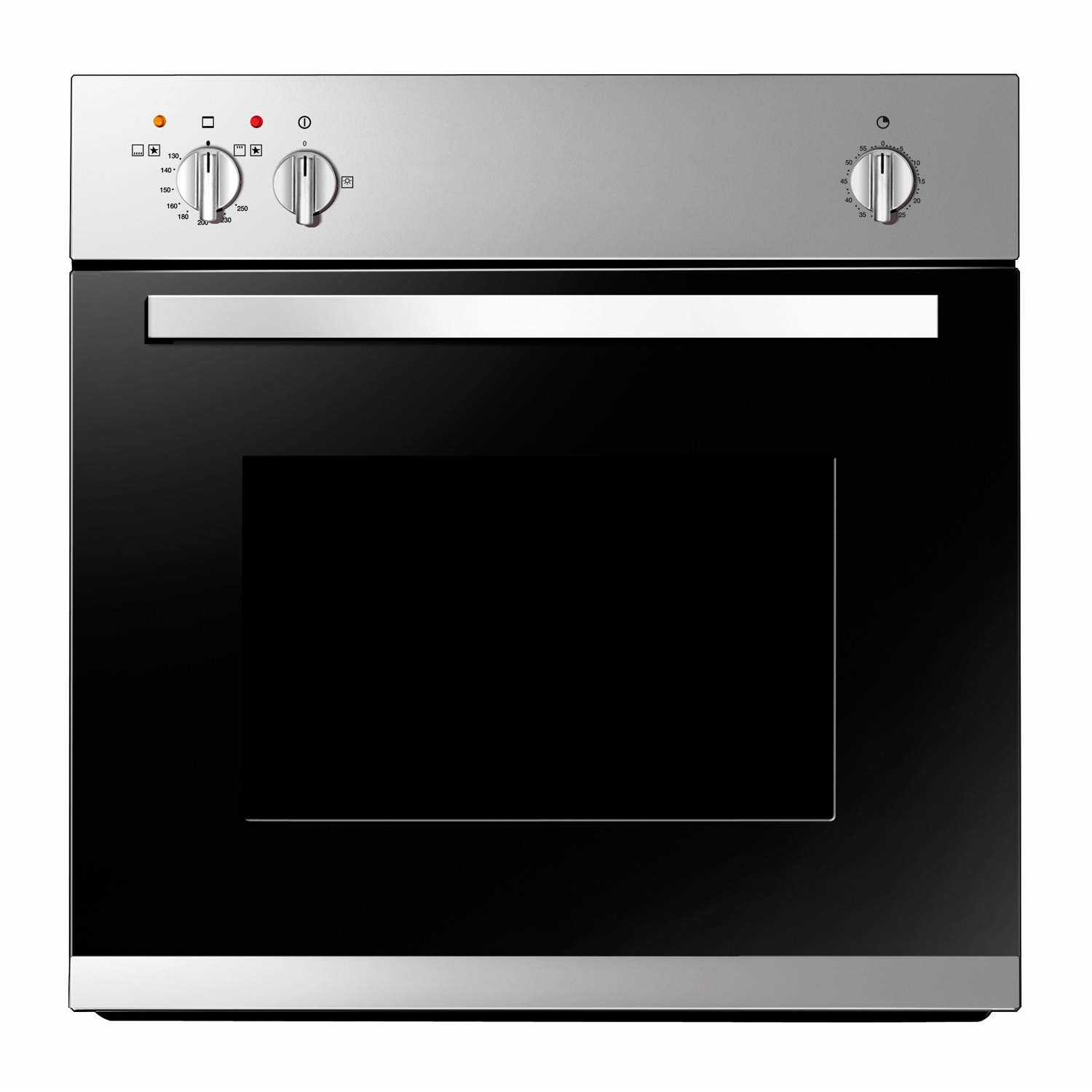 Single Oven With Grill Part - 49: Baumatic BO610.5SS Stainless Steel Built-in Gas Single Oven