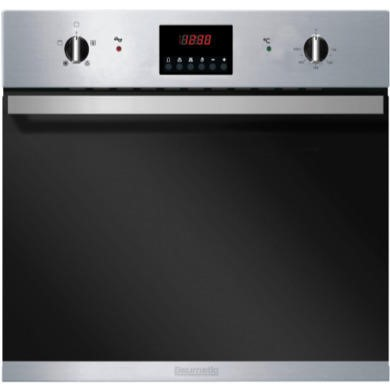 BO625SS Baumatic BO625SS 60cm Fan Assisted Electric Built-in Single Oven in Stainless Steel