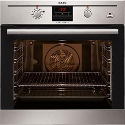 AEG BP300306KM COMPETENCE Electric Built-in Stainless Steel with SteamBake Function
