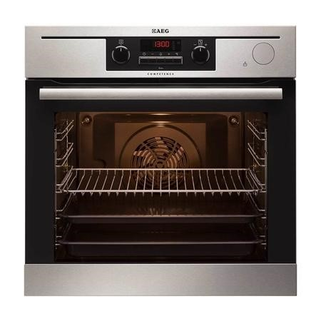 AEG BP501432WM Competence Multifunction Built-in Steam Oven Antifingerprint Stainless Steel