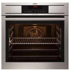 AEG BP7304001M COMPETENCE Electric Built-in  in Stainless Steel with antifingerprint coating