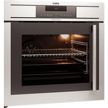 Aeg Bp7714000m Side Opening Pyroluxe Plus Electric Built