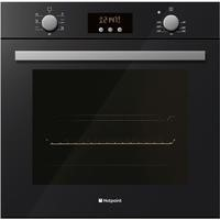 Hotpoint BQ63K Luce Glass Electric Built-in Single Oven Black