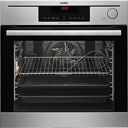 AEG BS730472KM CombiSteam Electric Built-in Steam Oven Antifingerprint Stainless Steel