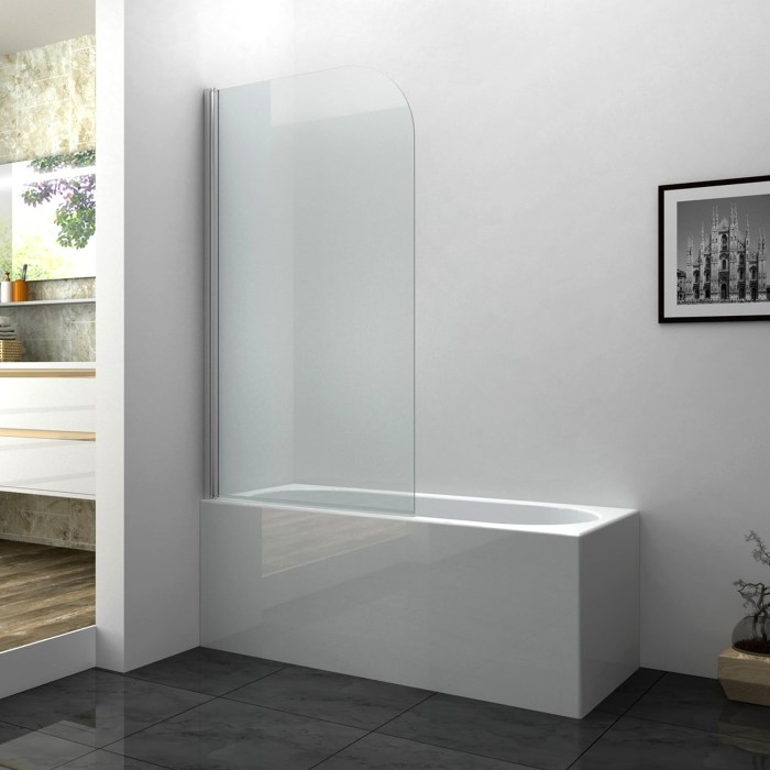 Taylor & Moore Curved Corner Bath Shower Screen 800 x 1400mm BSCU6 ...