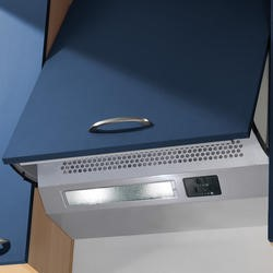 Baumatic BT06.8ME 60cm Integrated Cooker Hood Grey
