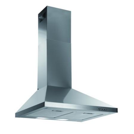 baumatic btc6720ss 60cm chimney cooker hood stainless. Black Bedroom Furniture Sets. Home Design Ideas