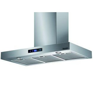 GRADE A3 - Baumatic BTC9740SS Touch Control 90cm Wide Box Design Chimney Cooker Hood Stainless Steel