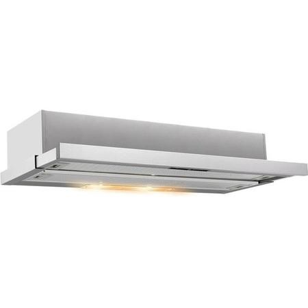 Baumatic BTEL60X 60cm Telescopic Cooker Hood Stainless Steel
