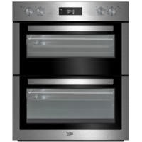 Beko BTF26300X Electric Built-under Fan Double Oven Stainless Steel