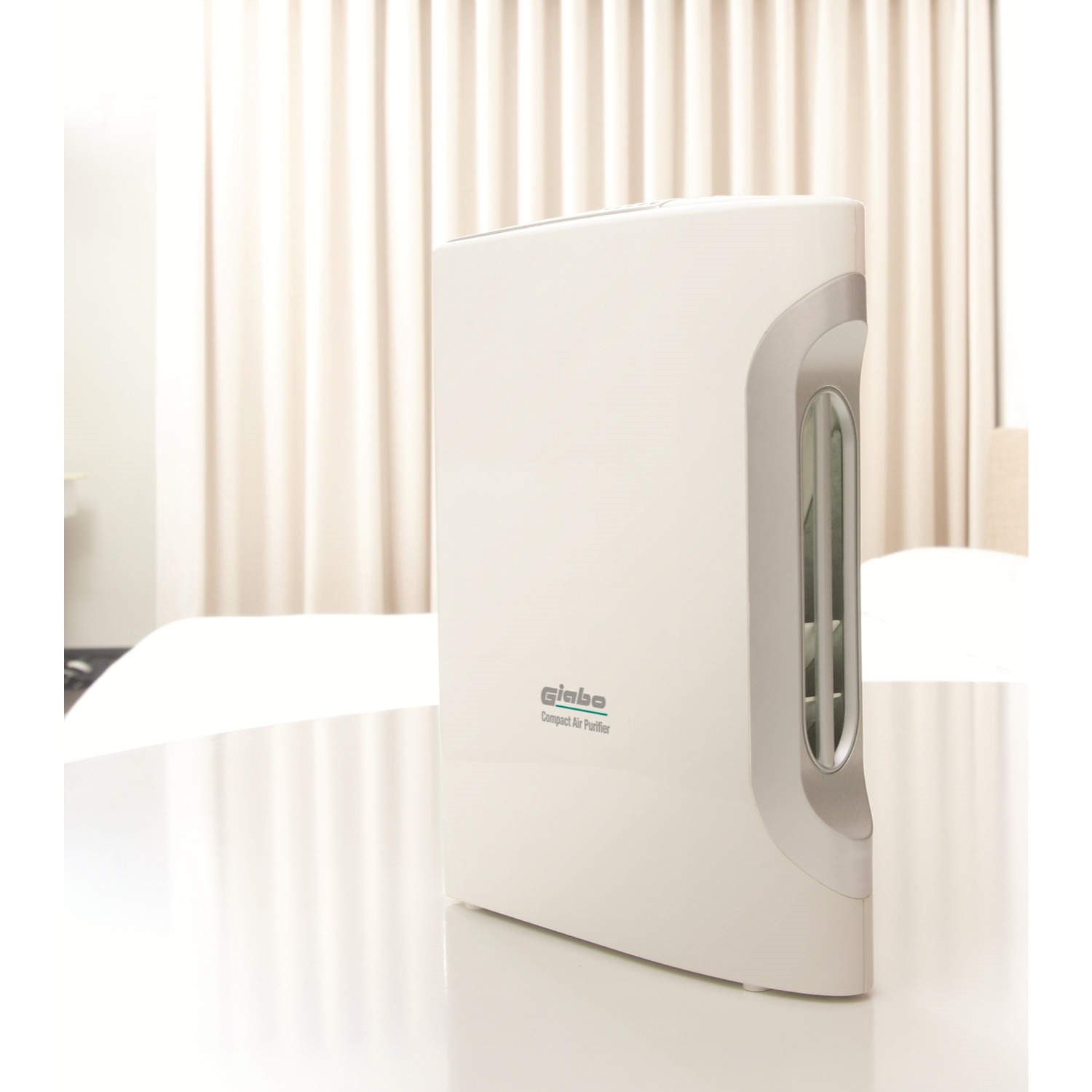 Giabo Compact Ultra Quiet Hepa And Plasma Air Purifier And