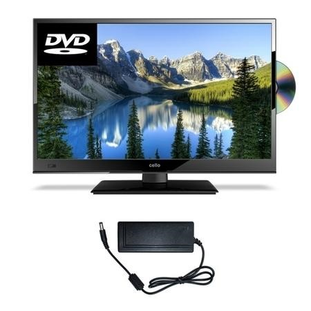"Cello C20230F 20"" HD Ready LED TV with Cello 12V Adaptor Bundle for Caravans"