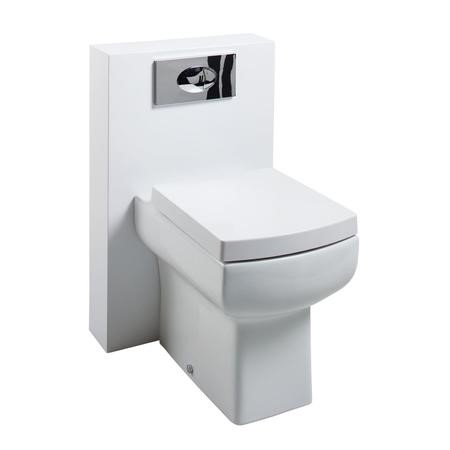 Poly Marble Delta Toilet unit with Wall Hung Basin