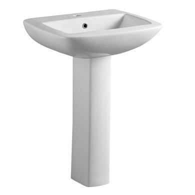 Pedestal Sink - 1 Tap Hole