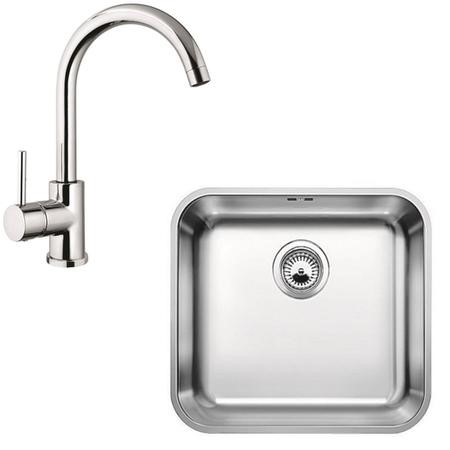 Blanco Stainless Steel Sink & Tap Pack