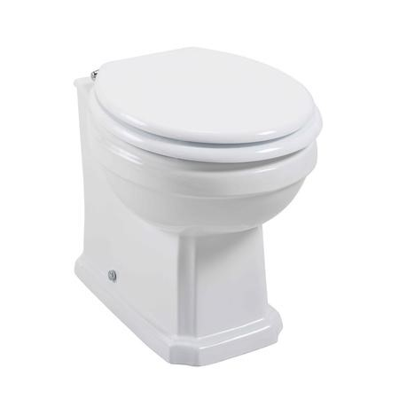 Taylor & Moore Traditional Back to Wall Toilet with Soft Close Seat