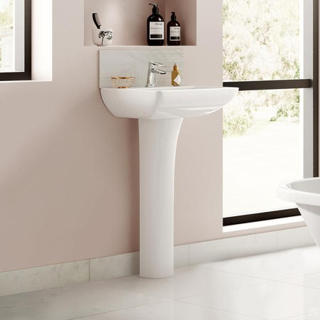 Voss 500mm Basin and Pedestal
