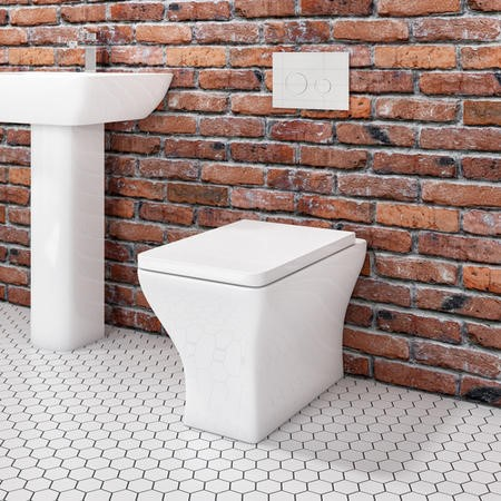 Austin Back to Wall Toilet with Soft Close Seat
