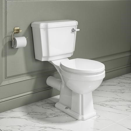 Park Royal Close Coupled Toilet and Soft Close Seat