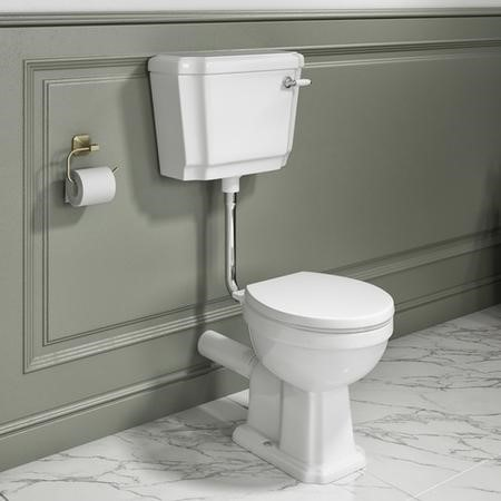 Park Royal  Low Level Toilet and Soft Close Seat