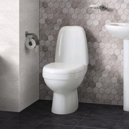 Cova Close Coupled Toilet with Soft Close Seat