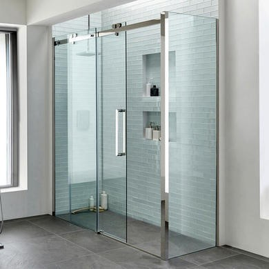 Trinity 1700 x 800 Right Hand Sliding Shower Enclosure - 10mm Easy Clean Glass
