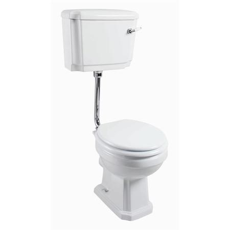 Taylor & Moore Traditional Low Level Toilet with Soft Close Seat