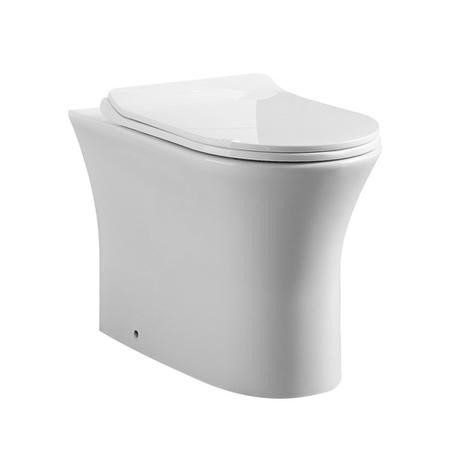 Back to Wall Toilet with Slim line Soft Close Seat