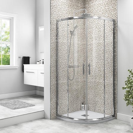 900 x 900 Quadrant Sliding Shower Enclosure - 6mm Easy Clean Glass - Taylor & Moore