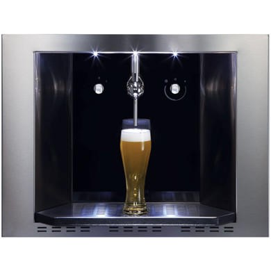 CDA Integrated Draught Beer Dispenser Stainless Steel