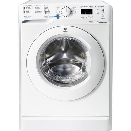 INDESIT BWA81483XW Innex 8kg 1400rpm Freestanding Washing Machine - White