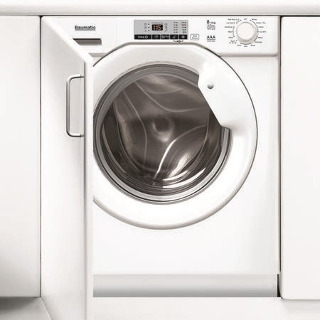 Baumatic BWDI1485D-80 8kg Wash 5kg Dry 1400rpm Integrated Washer Dryer