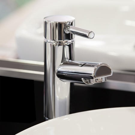 Deluxe Extended Basin Mixer Tap - Peru Range