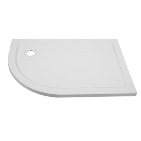 Ultralite 1200 x 800 Left Hand Offset Quadrant Shower Tray