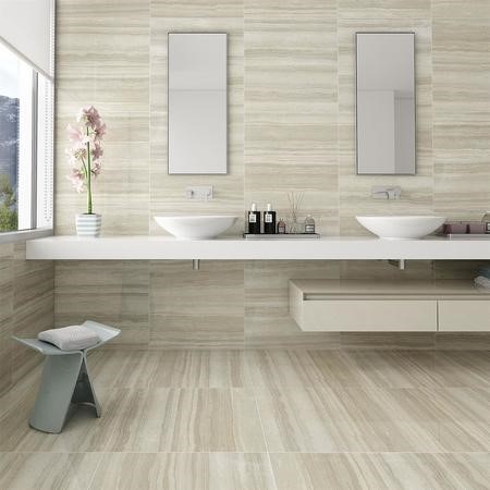 Oporto Travertino Ceramic Wall Tile