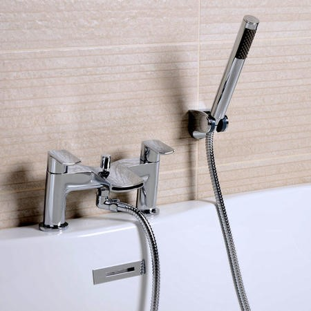 Waterfall Bath Shower Mixer - Voss Range