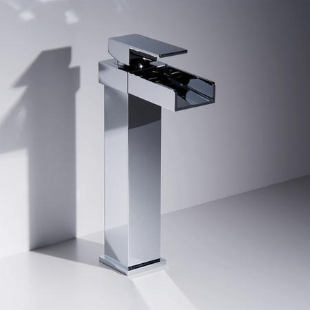 Waterfall Extended Basin Mixer Tap - Sanctuary Range