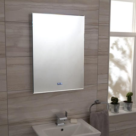 700 x 500mm Illuminated LED Mirror - Zephyr
