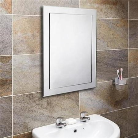 500 x 700mm Bathroom Mirror - Landscape & Portrait - Tucana