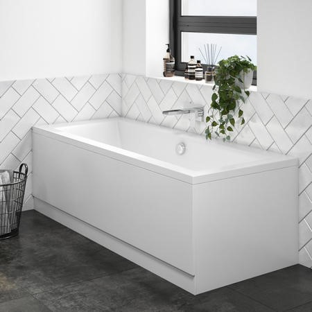 Chiltern Square Double Ended Bath - 1700 x 700mm