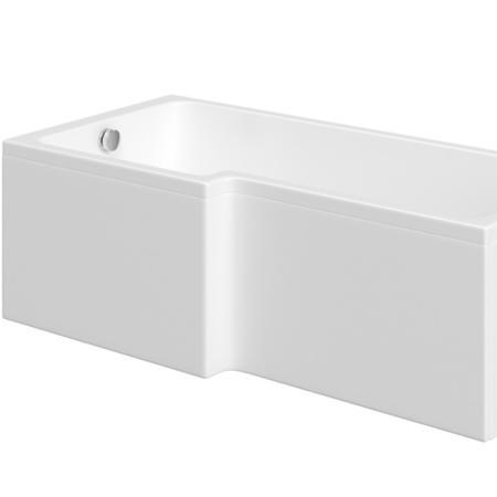 GRADE A1 - Acrylic L Shaped Bath Front Panel - 1700mm