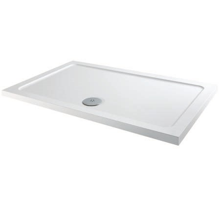 Square Low Profile Shower Tray 800 x 700mm - Slim Line